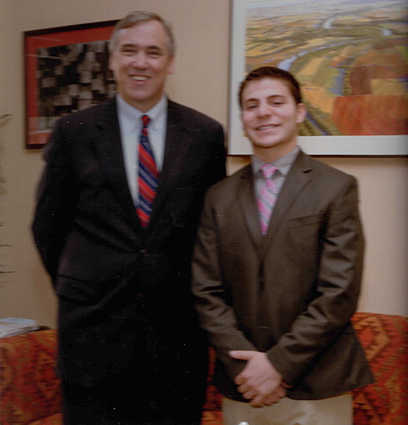 Jordan and Senator Jeff Merkley